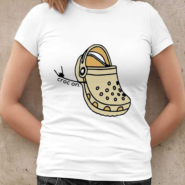 Crock On Rock N' Roll T-shirt M By AllezyShirt