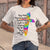 Cross Color Way Maker Miracle Worker Promise Keeper T-shirt