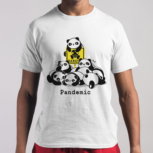 Cute Panda Pandemic T-shirt M By AllezyShirt