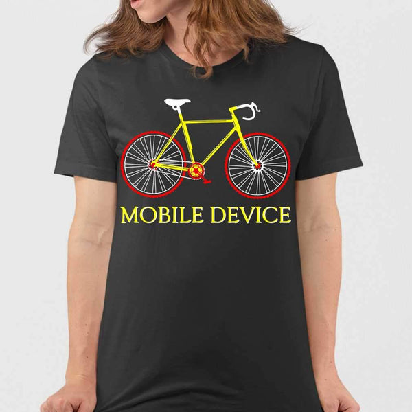 Cycling Mobile Device T-shirt M By AllezyShirt