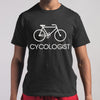 Cycologist Bicycle Classic T-shirt S By AllezyShirt