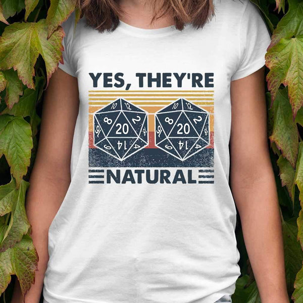 DM Yes They're Natural Math Vintage T-shirt S By AllezyShirt