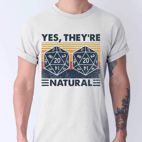 DM Yes They're Natural Math Vintage T-shirt M By AllezyShirt