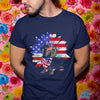 Dachshund Sunflower Usa Flag Shirt M By AllezyShirt