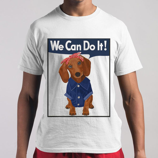 Dachshund We Can Do It Shirt M By AllezyShirt