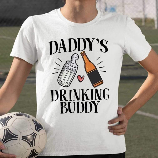 Daddy's Drinking Buddy T-shirt S By AllezyShirt