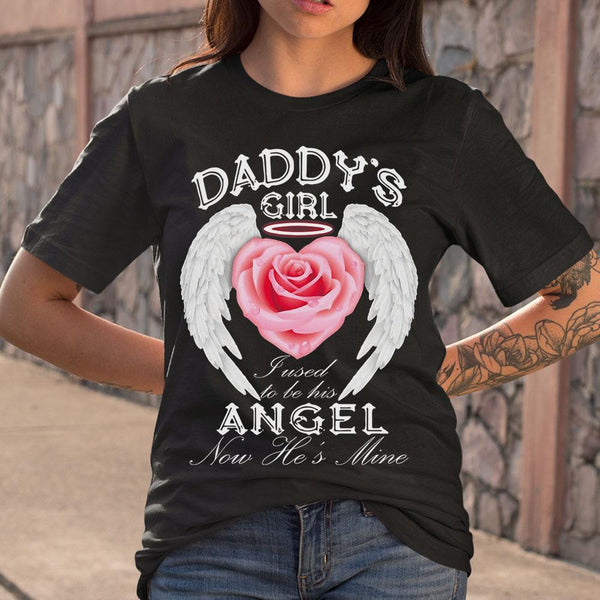 Daddy's Girl Fused To Be His Angel Now He's Mine S By AllezyShirt