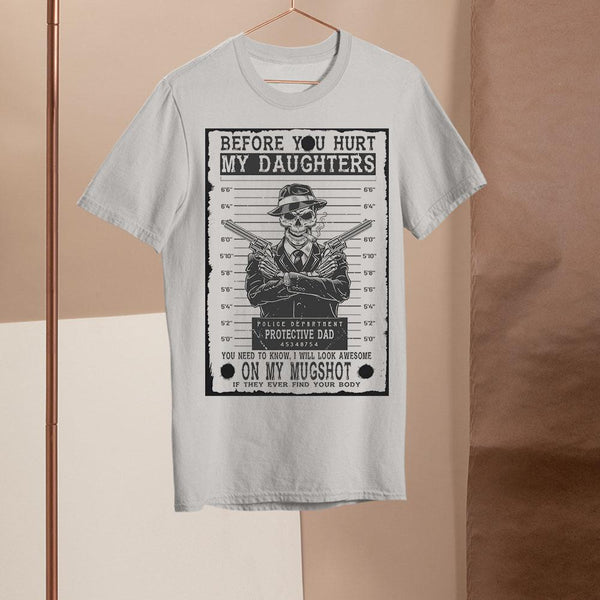 Daughters - Mugshot - Front Print Shirt S By AllezyShirt