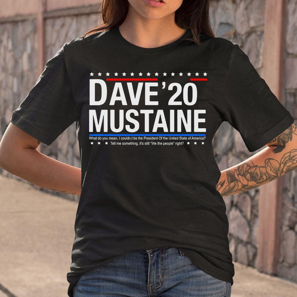 Dave Mustaine 2020 T-shirt S By AllezyShirt