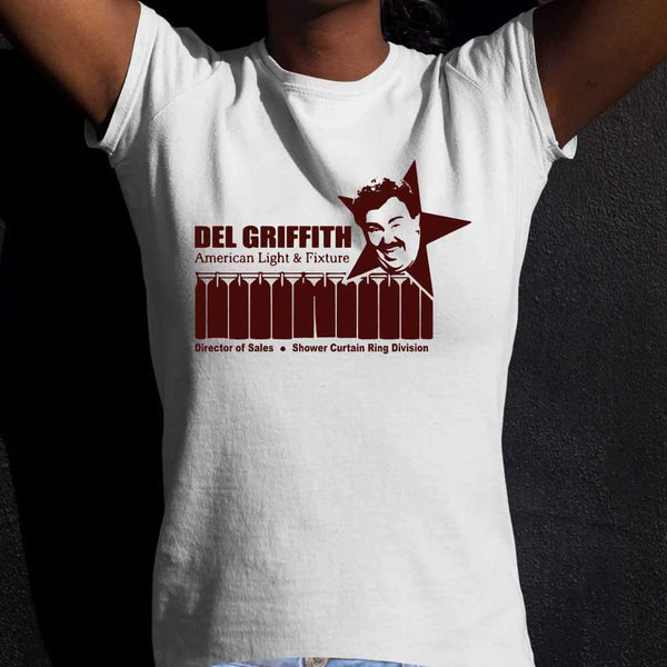 Del Griffith American Light And Fixture Director Of Sales T-shirt S By AllezyShirt