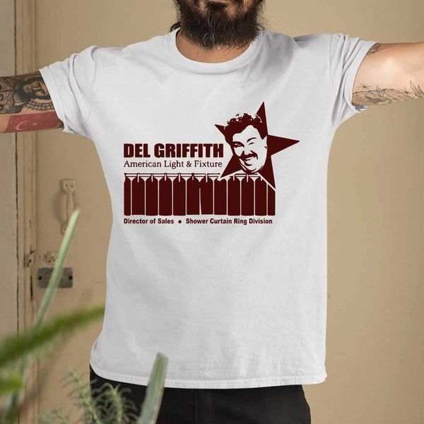 Del Griffith American Light And Fixture Director Of Sales T-shirt M By AllezyShirt