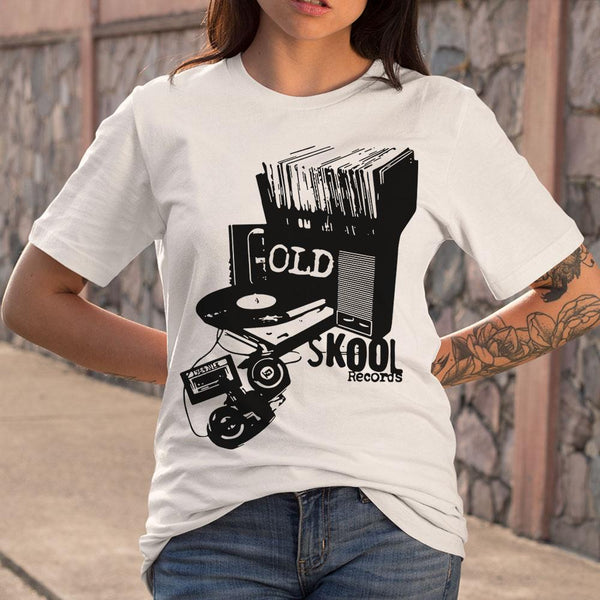 Dj Old Skool Records S By AllezyShirt