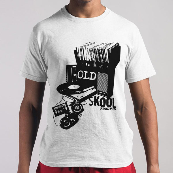 Dj Old Skool Records M By AllezyShirt