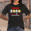 Donald Trump Toilet Paper Quarantine T-shirt M By AllezyShirt
