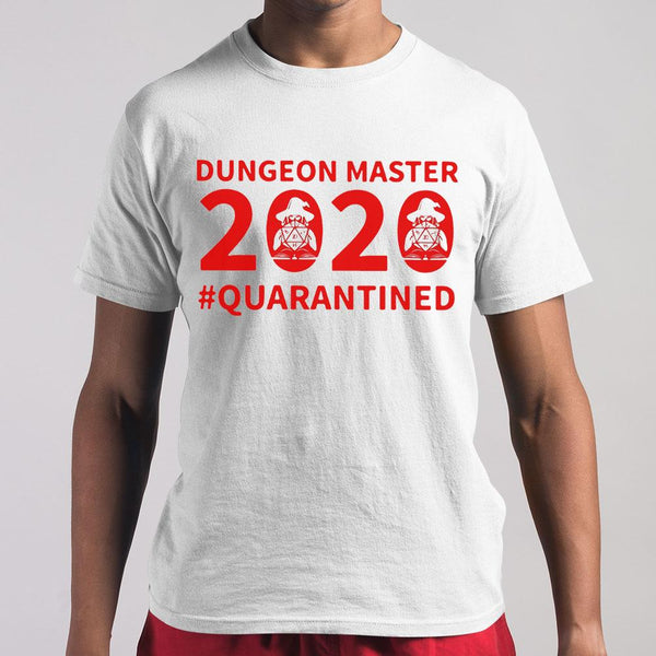 Dungeon Master 2020 Quarantine Shirt M By AllezyShirt