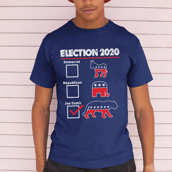 Election 2020 Democrat Republican Joe Exotic Shirt M By AllezyShirt