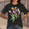 Elephant Tulip Flowers Shirt S By AllezyShirt
