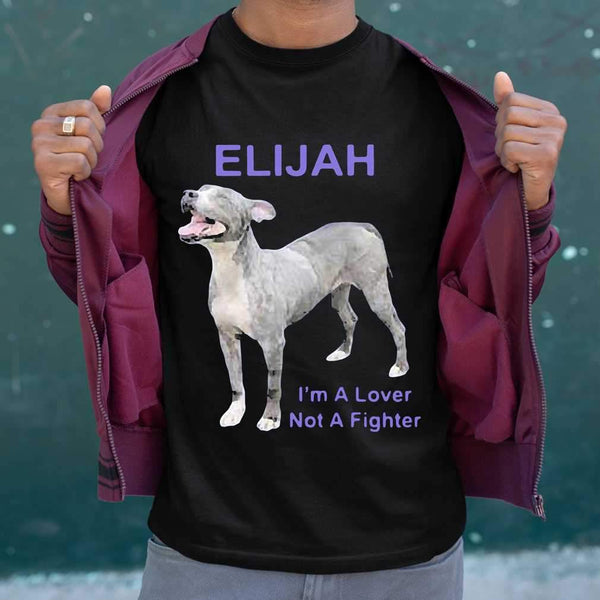 Elijah I'm A Lover Not A Fighter T-shirt M By AllezyShirt