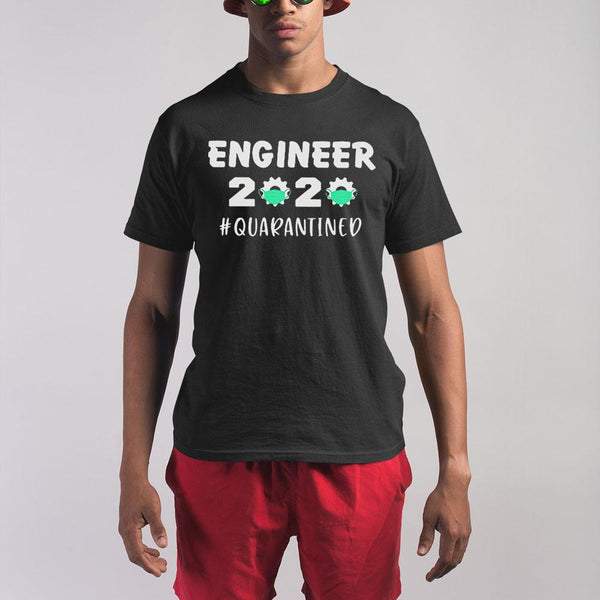 Engineer 2020 Quarantined Covid-19 Shirt S By AllezyShirt