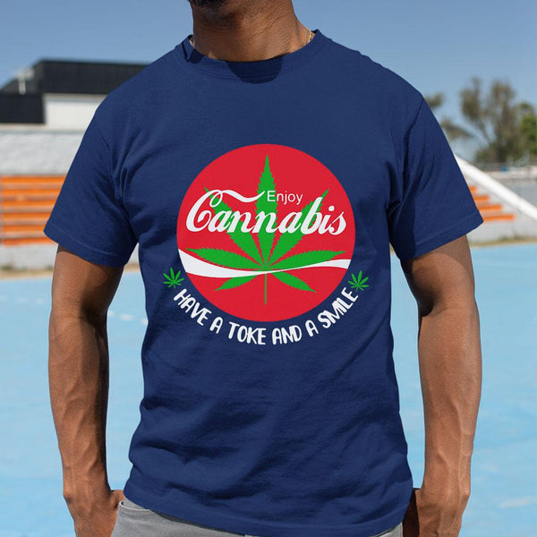 Enjoy Cannabis Have A Toke And A Smile Shirt M By AllezyShirt