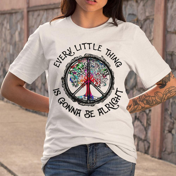 Every Little Thing Is Gonna Be Alright T-Shirt M By AllezyShirt