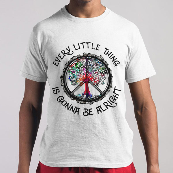 Every Little Thing Is Gonna Be Alright T-Shirt S By AllezyShirt