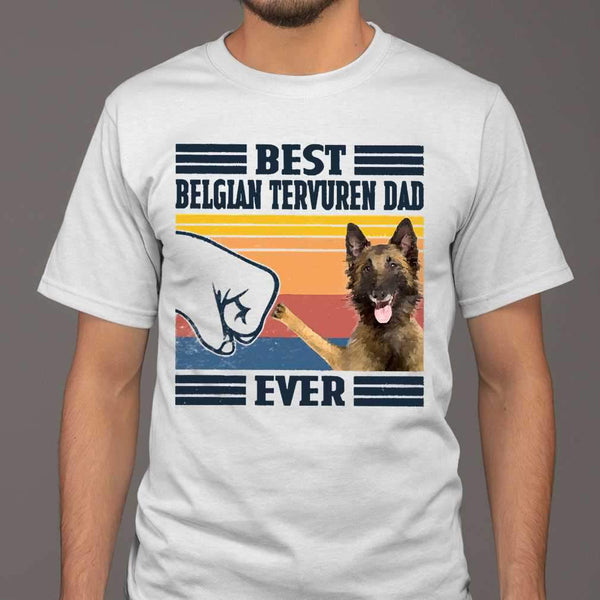 Father's Day Best Belgian Tervuren Dad Ever T-shirt M By AllezyShirt
