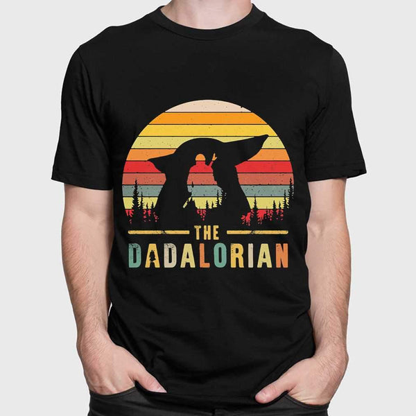 Father's Day The Dadalorian Vintage T-shirt M By AllezyShirt