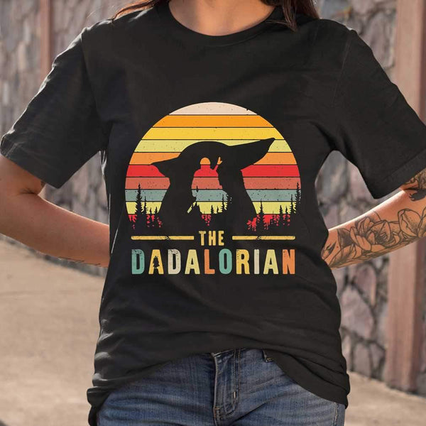 Father's Day The Dadalorian Vintage T-shirt S By AllezyShirt