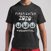 Firefighter Logo 2020 Mask Essential Shirt M By AllezyShirt