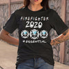 Firefighter Logo 2020 Mask Essential Shirt S By AllezyShirt