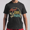 Fishing Reel Cool Papa Vintage T-shirt M By AllezyShirt
