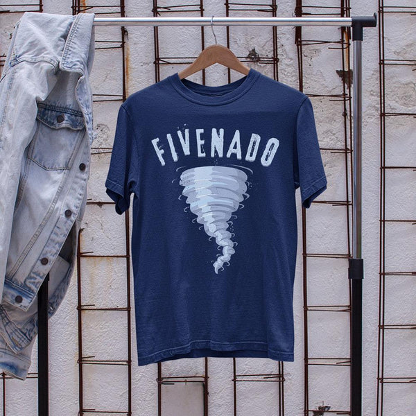 Fivenado 5Th Birthday Tornado Shirt