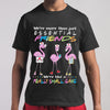 Flamingo Nurse We're More Than Just Essential Friends We're Like A Really Small Gang T-shirt M By AllezyShirt