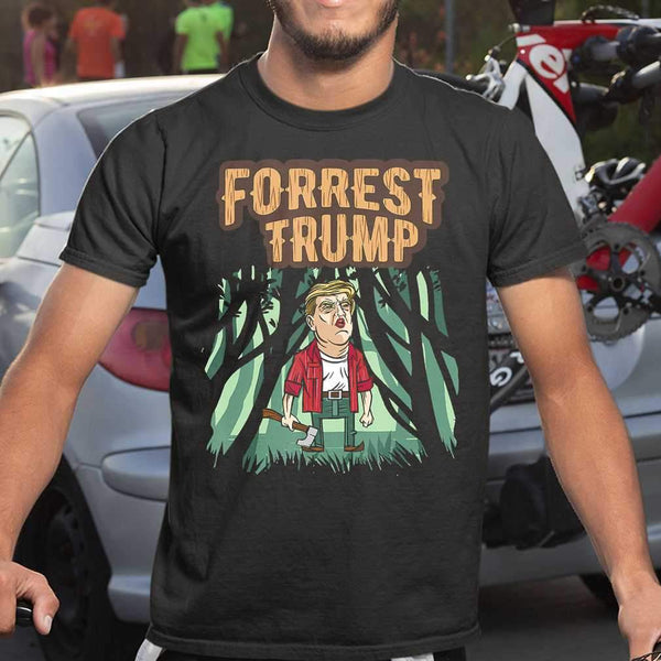 Forrest Trump Election T-shirt S By AllezyShirt