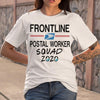 Frontline Postal Worker Squad 2020 Mask Covid-19 T-shirt S By AllezyShirt