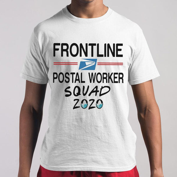 Frontline Postal Worker Squad 2020 Mask Covid-19 T-shirt M By AllezyShirt