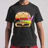 Funny Amazing Hamburger Glasses T-shirt S By AllezyShirt