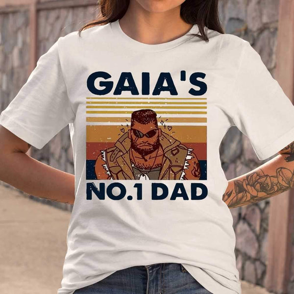 Gaia'S No1 Dad Vintage T-shirt S By AllezyShirt