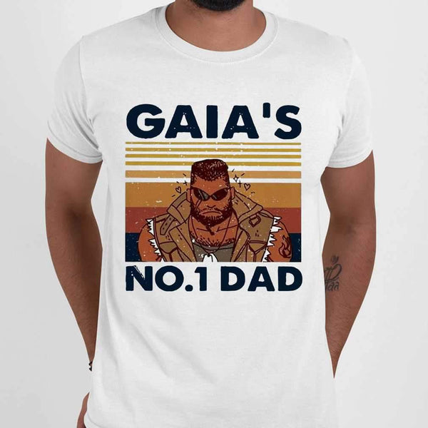 Gaia'S No1 Dad Vintage T-shirt M By AllezyShirt