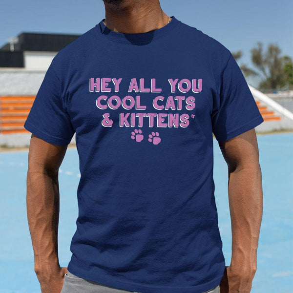 Hey All You Cool Cats And Kittens Shirt M By AllezyShirt