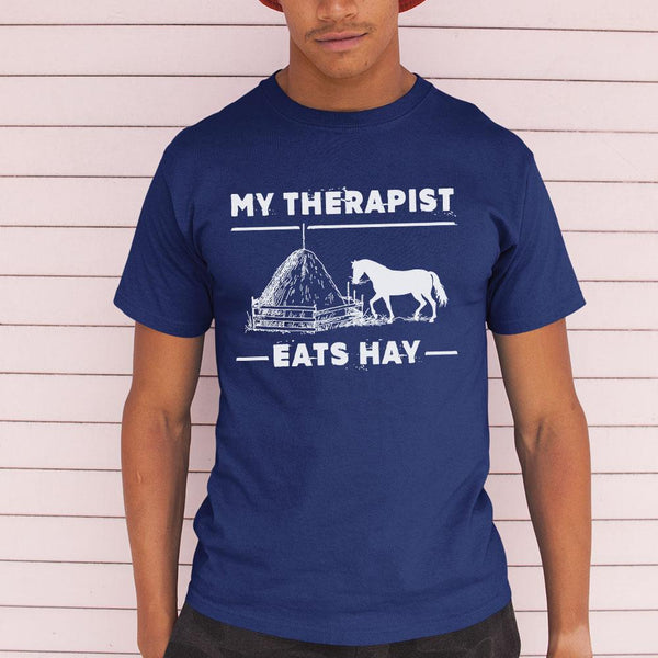 Horse My Therapist Eats Hay 2020 Black Shirt M By AllezyShirt