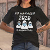 Hr Manager 2020 #essential Shirt S By AllezyShirt
