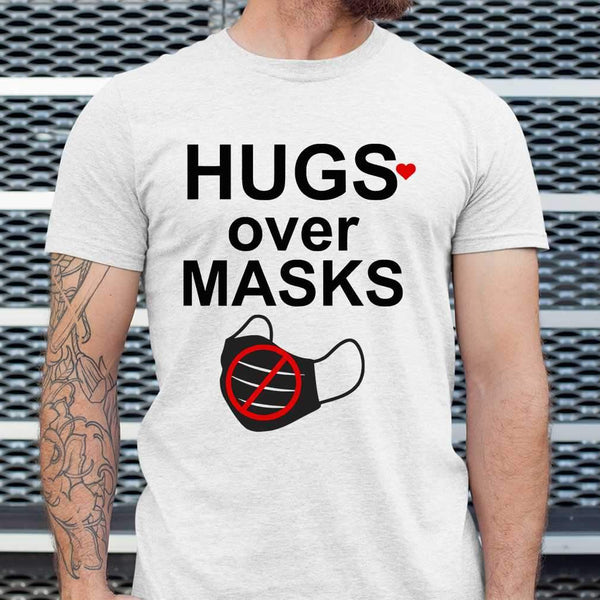 Hugs Over Masks T-shirt S By AllezyShirt