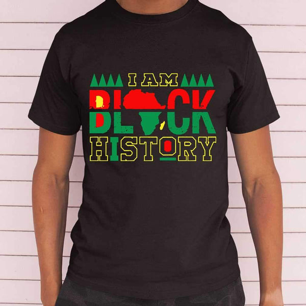 I Am Black History T-shirt S By AllezyShirt