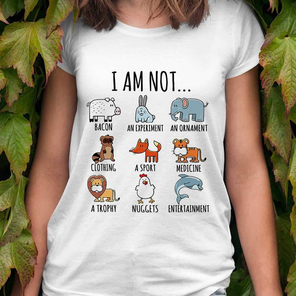 I Am Not Bacon An Experiment An Ornament T-shirt S By AllezyShirt