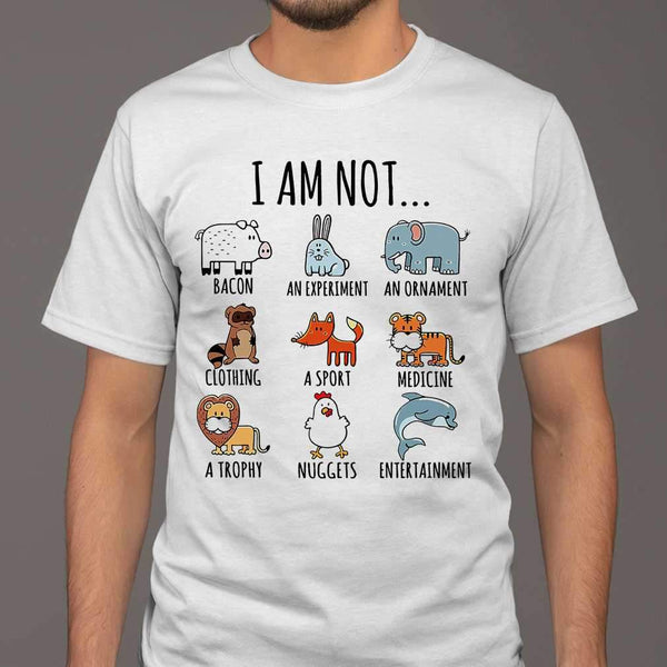 I Am Not Bacon An Experiment An Ornament T-shirt M By AllezyShirt