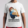 I Can Make Masks What's Your Superpower T-shirt M By AllezyShirt