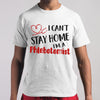 I Can't Stay Home I'm A Phlebotomist T-shirt M By AllezyShirt