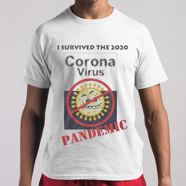 I Survived The 2020 Corona Virus Pandemic T-shirt M By AllezyShirt